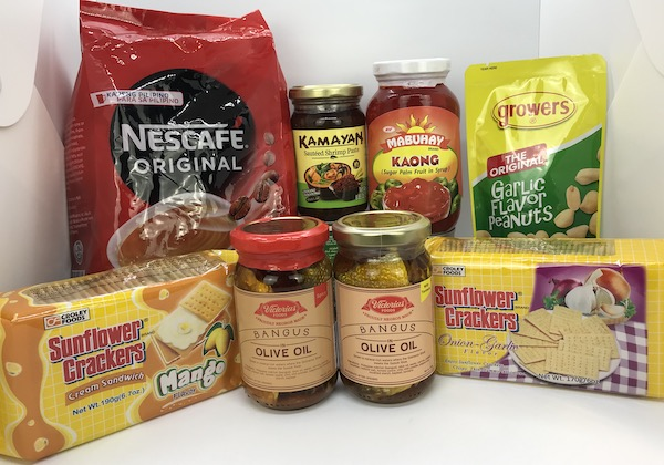 Recently Added: Nescafe 3-in-1 Original, Sunflower Crackers (Mango & Onion-Garlic), Mabuhay Kaong, Kamayan Ginisang Bagoong Original, Victorias Foods Bangus (Spicy and with Turmeric), Growers Peanuts Garlic