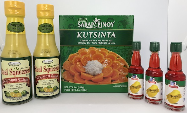 Recently Added: Kutsinta Mix, McCormick Mango Extract, Real Squeezed Calamansi Extract