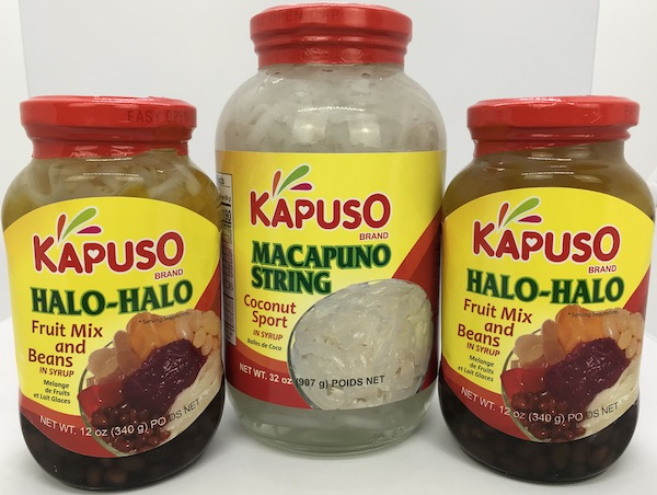 Halo-Halo Fruit Mix & Beans, Macapuno String