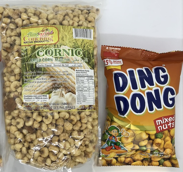Ding Dong Mixed Nuts and Aling Conching Cornic