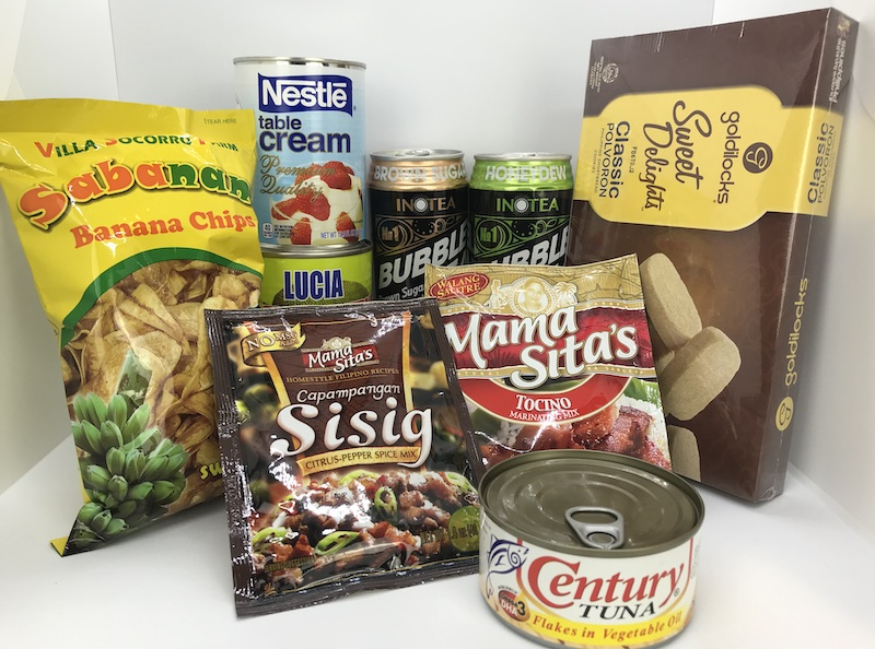 Recently Added: Tocino & Sisig Mixes, Banana Chips, Polvoron, Bubble Tea, Table Cream, Green Jackfruit, Tuna in Vegetable Oil
