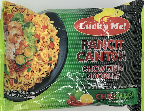 Lucky Me Pancit Canton Chilimansi Flavor