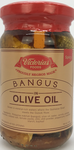 Victorias Foods Bangus in Olive Oil Spicy
