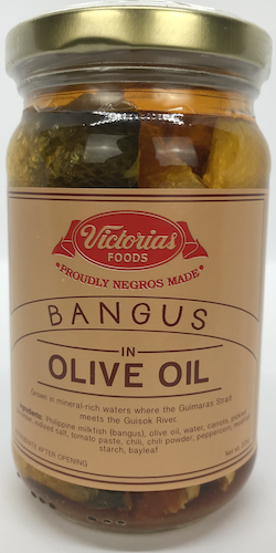 Victorias Foods Bangus in Olive Oil