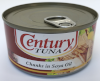 Century Tuna Chunks in Soya Oil