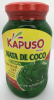 Kapuso Nata de coco, Green in syrup (Coconut Gel)