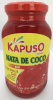 Kapuso Nata de coco, Red in syrup (Coconut Gel)