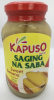 Kapuso Sweet Banana (Saging na Saba) in syrup